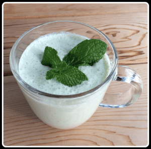Homemade shamrock shake recipe