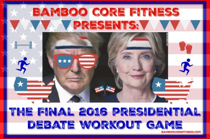 The Final 2016 Presidential Debate Workout Game