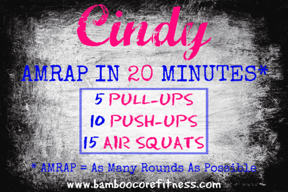 Get Your Ass Crushed By the WOD Cindy •