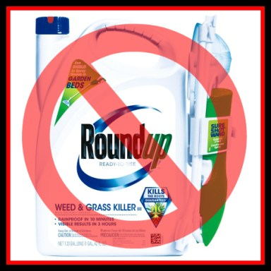 Say no to Monsanto Roundup