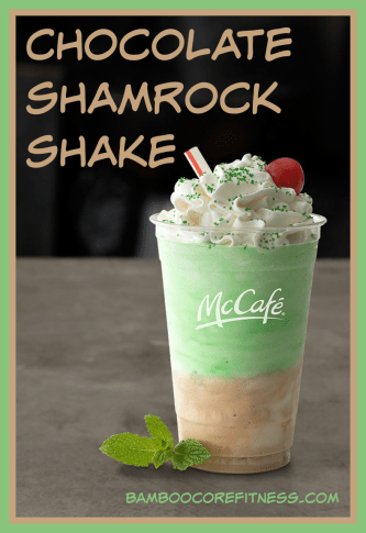 Chocolate Shamrock Shake STRAW
