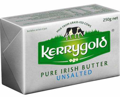 Kerrygold Irish Butter for bulletproof coffee