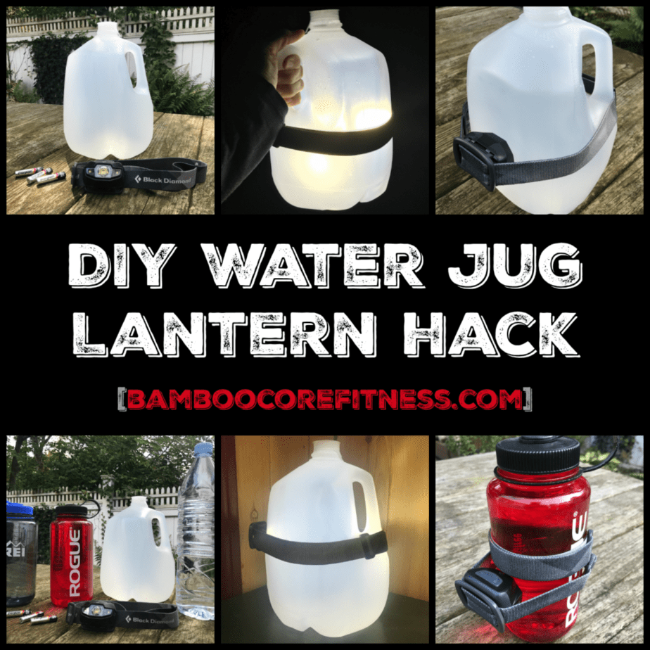 This hack teaches you how to make a lantern by using a water jug and headlamp.The result is an ambient glow that's great for power outages and camping!Woot!