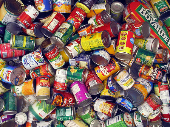 Many canned goods contain Disodium EDTA