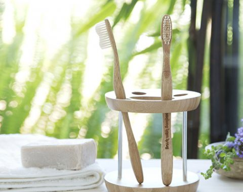 bamboo hearts toothbrush supplies
