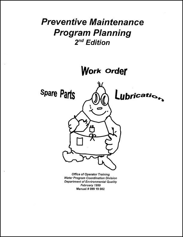 Preventative Maintenance Program Planning - BambooInk