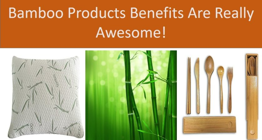Bamboo Products Benefits Are Really Awesome !