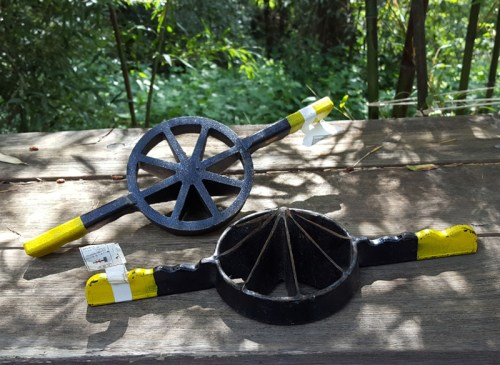bamboo, tools, splitting, japan, woodworking