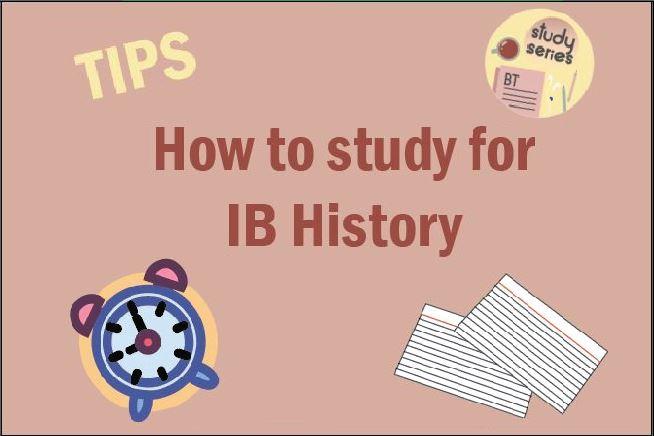 Study series_ How to study for IB history - Somya Duggal