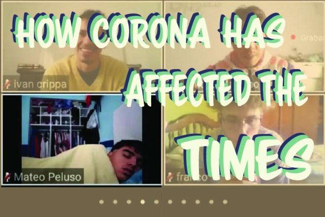 How has corona affected the time - Somya Duggal