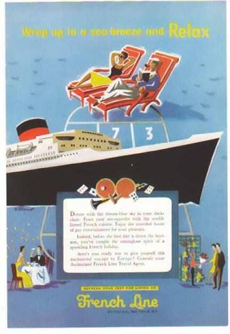 Cruise Line Ads