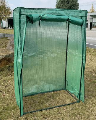 Serre pour mettre bambou en hiver