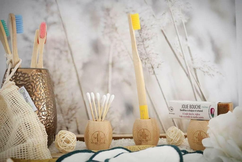 Brosses à dents en bambou Mon Beau Bambou