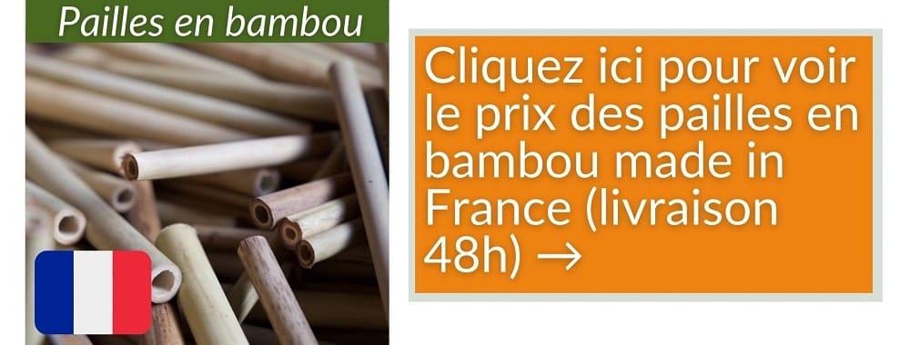 Paille en bambou France