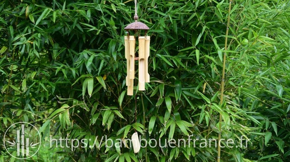 Carillon bambou - Feng Shui