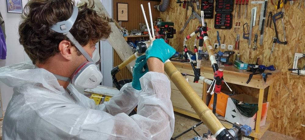 Atelier de fabrication de votre vélo en bambou