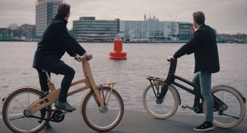 Vélo en bois Bough Bike