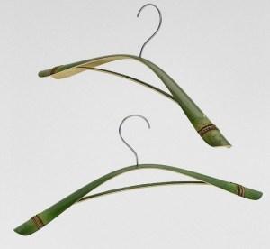 Cintres en bambou
