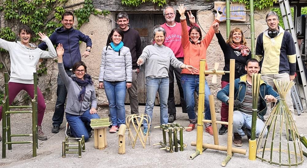 Objets en bambou à fabriquer