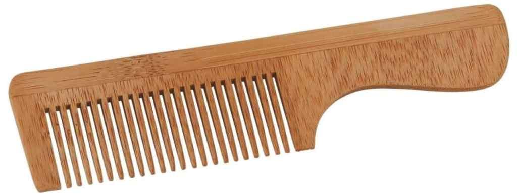 Peigne en bambou avec poignée