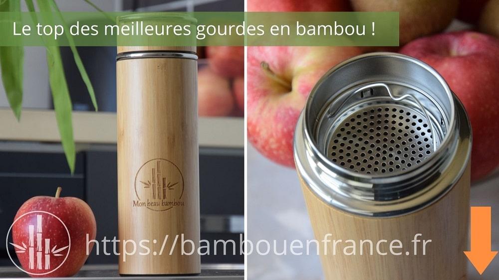 Gourde en bambou Mon Beau Bambou