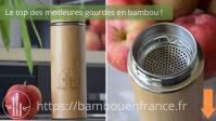 Meilleure Gourde en Bambou: Laquelle Choisir en 2021 ? (Naturelle & Elégante)