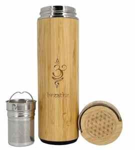 Gourde en bambou isotherme 550 ml
