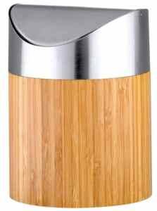 Mini poubelle en bambou