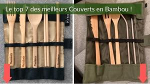 Couverts bambou