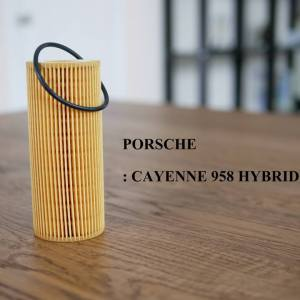 Oil Filter Porsche Cayenne 958 Hybrid Made in Germany
