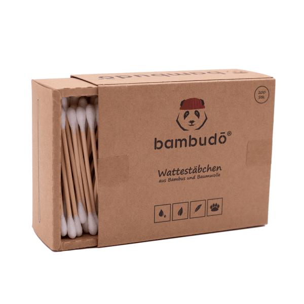 Wattestäbchen aus Bambus von bambudo