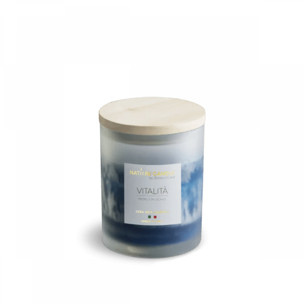 candela 200g nature candle amati vitalità - Bambushop
