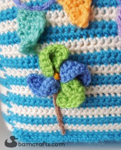 crochet beach house windmill