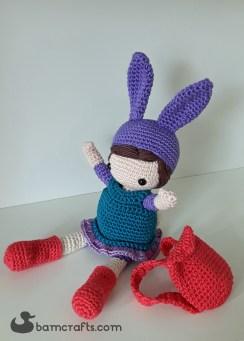 crochet bunny girl 1