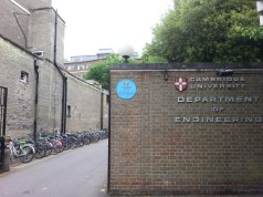 Department of Engineering, Cambridge University.