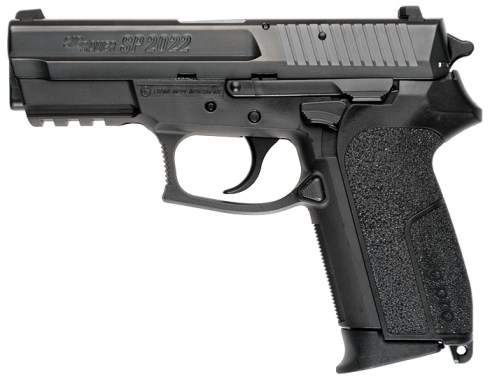 The 9x19 mm SIG Pro SP 2022, as carried by Jason Bourne in The Bourne Ultimatum.