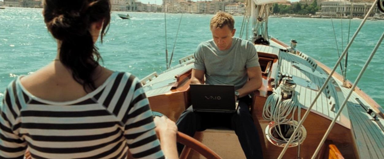 casino royale boat scene