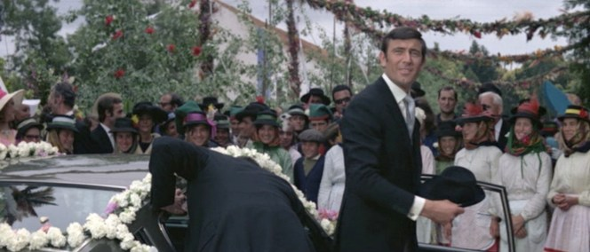 Being Australian, George Lazenby expected his hat to come right back like a boomerang.