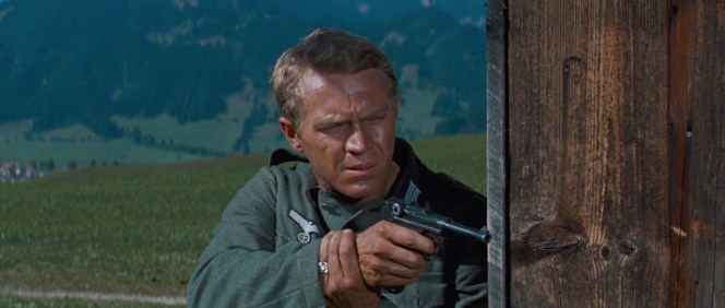 Hilts and the lucky Luger.