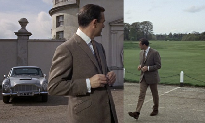 Sir Sean was notoriously camera-shy on the set of Goldfinger.