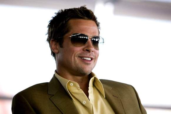 Oliver Peoples must have accounted for about a 5000% increase in sales when they saw Brad Pitt wearing a pair of Strummers on screen.