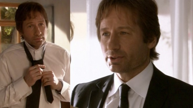 Hank's tie in season 1 is slightly wider than the one he wears later in season 4. I can't really picture Hank going into a store to buy a tie, but he must have picked up a new one somewhere along the way!