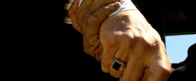 Dillinger actually did wear a pretty big honker like this on his finger. Points for accuracy, Public Enemies.