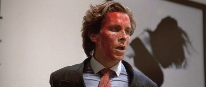 The nice thing about a red tie is that, even if you become drenched with blood, your tie isn't ruined!