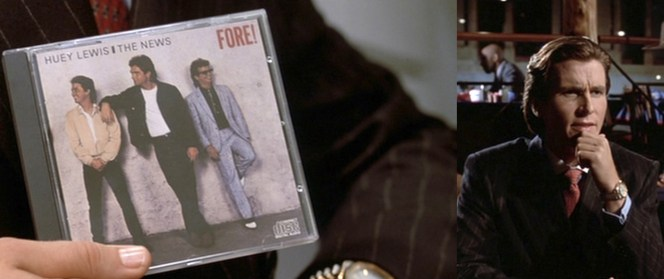 To a guy like Pat Bateman, a Huey Lewis album is just as much an aspirational item as a Rolex.