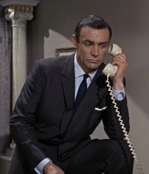 Sean Connery as James Bond in From Russia With Love.