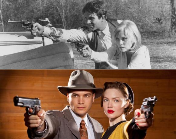 Hirsch and Grainger at least make a more appropriate-looking Bonnie and Clyde. Not to say that the two aren't as attractive as Beatty and Dunaway, but they look more like the actual people while still looking appealing for TV.