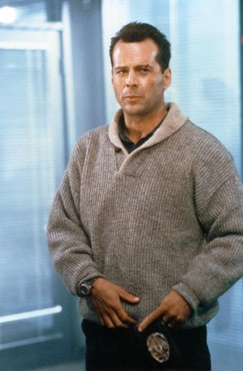 Bruce Willis as John McClane in Die Hard 2 (1990)