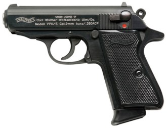 A Walther PPK/S in .380 ACP.