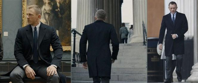 Bond, appreciating fine art.